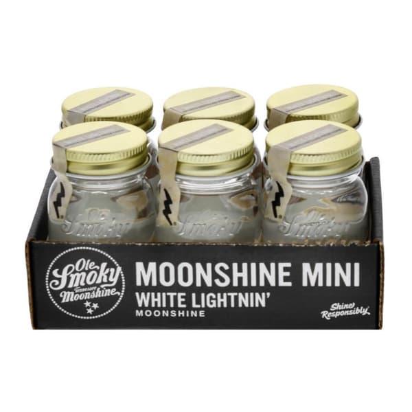 Ole Smoky White Lightnin 5cl, 6er-Pack