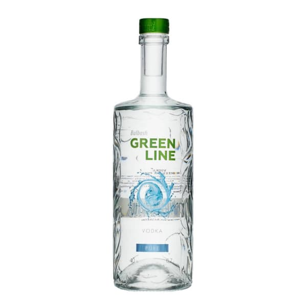 Bulbash GreenLine Pure Vodka 70cl