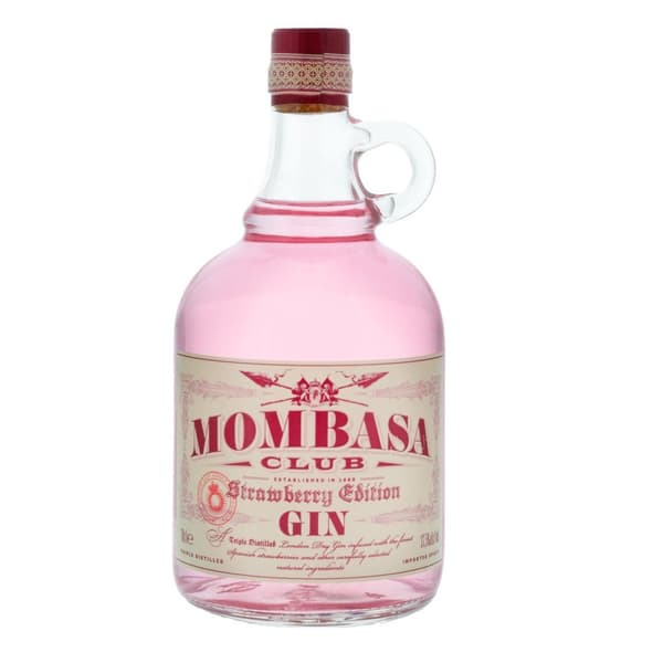 Mombasa Club Strawberry Edition 70cl (Spiritueux à base de gin)