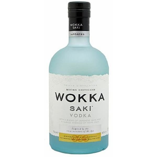 Wokka Saki Fusion Vodka 70cl