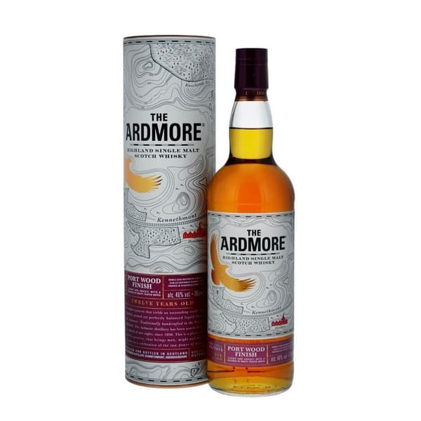 Ardmore 12 Years Port Wood Finish 70cl