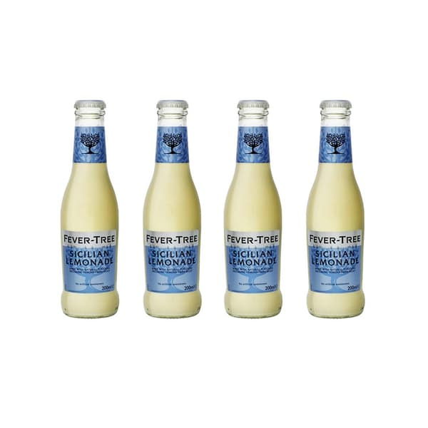 Fever-Tree Sicilian Lemonade 20cl, 4er-Pack