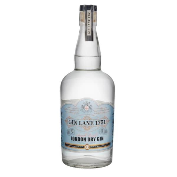 Gin Lane 1751 London Dry Gin Small Batch 70cl