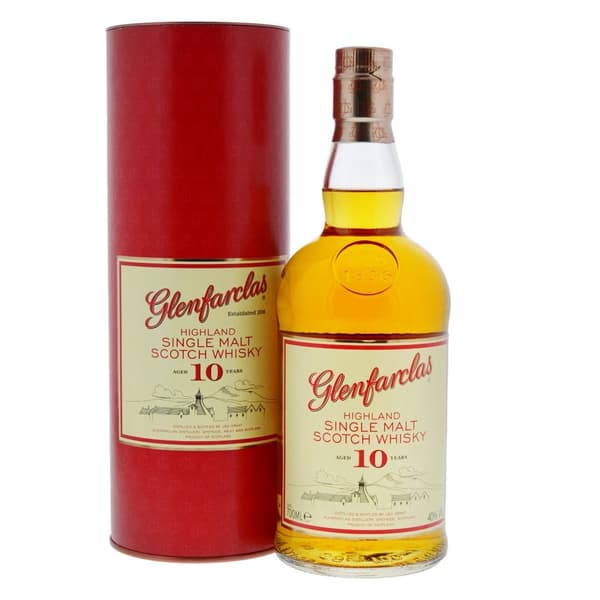 Glenfarclas 10 Years Single Malt Whisky 70cl
