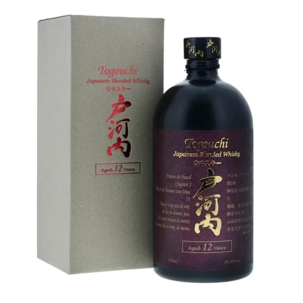 Togouchi 12 Years Premium Whisky 70cl