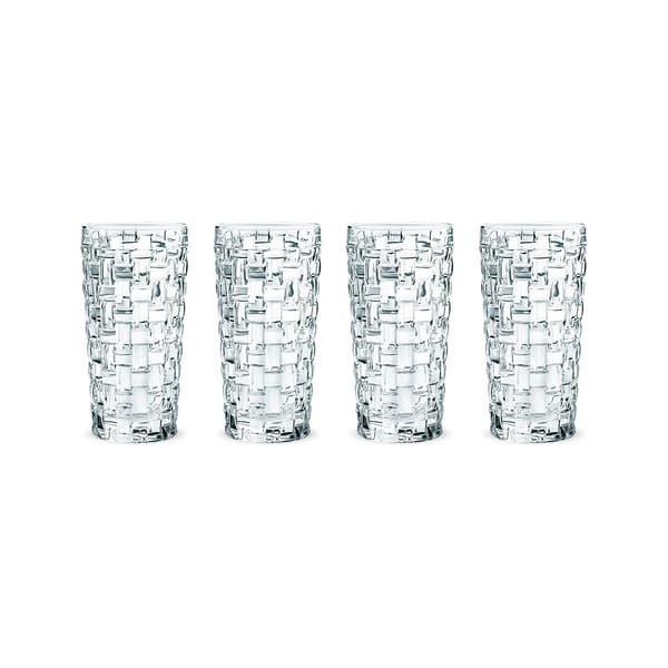 Nachtmann Bossa Nova Longdrink Glas, 4er-Set