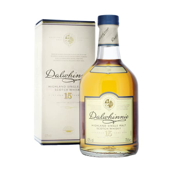 Dalwhinnie 15 Years Single Malt Whisky 70cl