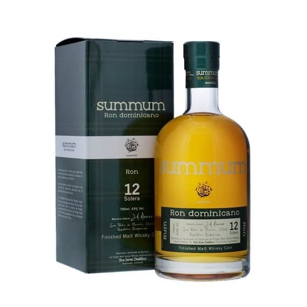 Summum 12 Solera Ron Dominicano Malt Whisky Finish 70cl