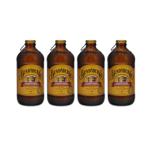 Bundaberg Ginger Beer 37.5cl 4er Pack