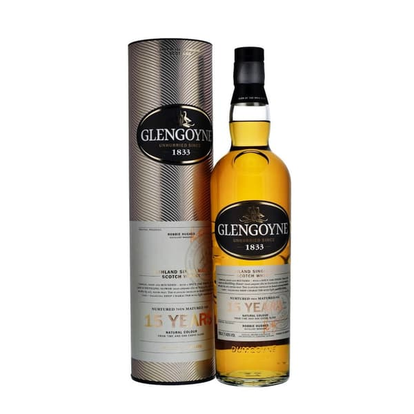 Glengoyne 15 Years Single Malt Whisky 70cl