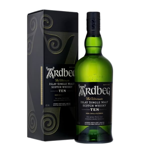 Ardbeg 10 Years Single Malt Whisky 70cl