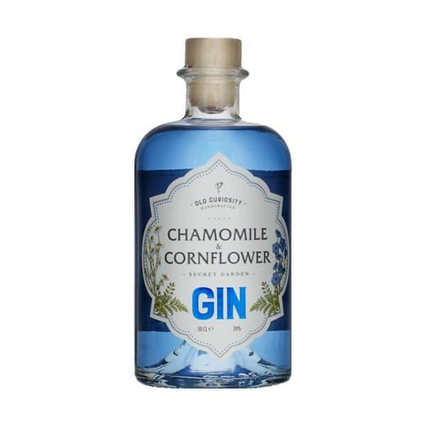 Old Curiosity Secret Garden Gin Kamille & Kornblume 50cl