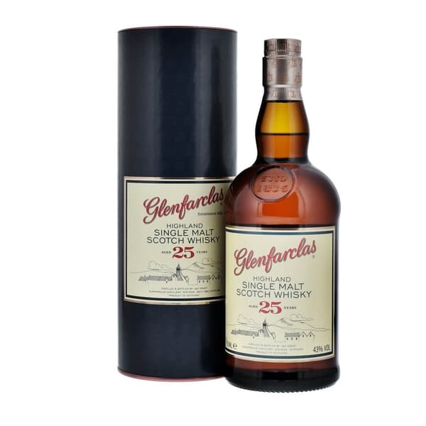 Glenfarclas 25 Years Single Malt Whisky 70cl