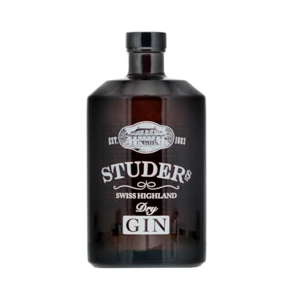 Studer Swiss Highland Dry Gin 70cl