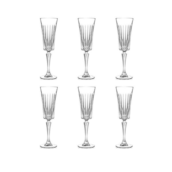 RCR Style Timeless Champagne Flute, 6er-Pack