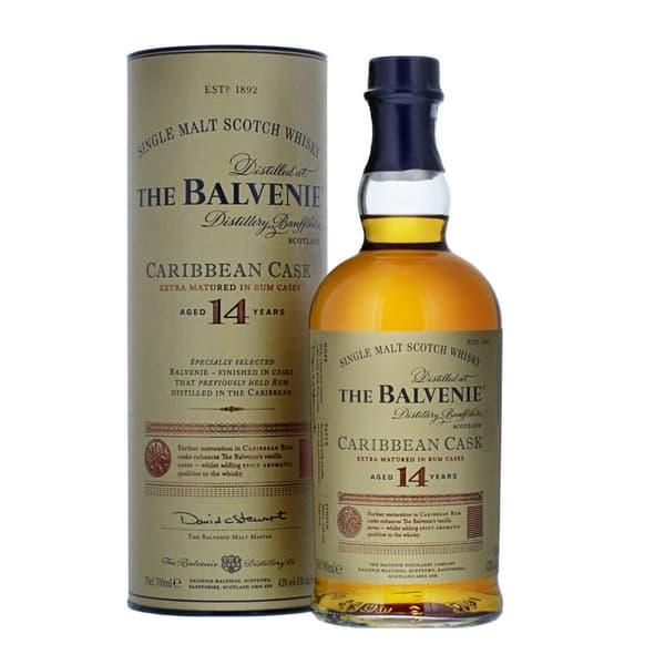 The Balvenie Caribbean Cask 14 Years Single Malt Whisky 70cl