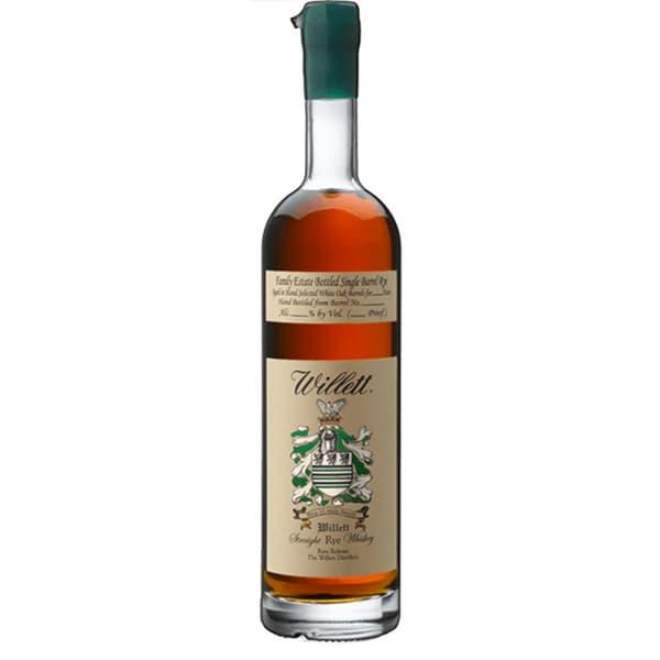 Willett Family Estate Single Barrel Rye 8 Years Whiskey 75cl