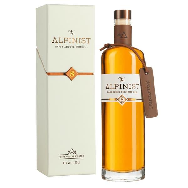 The Alpinist Rare Blend Premium Rum 8 Years 70cl mit Verpackung