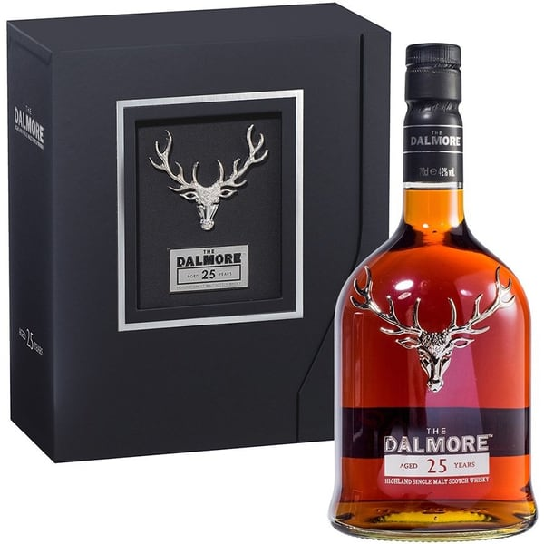 The Dalmore 25 Years Single Malt Whisky 70cl