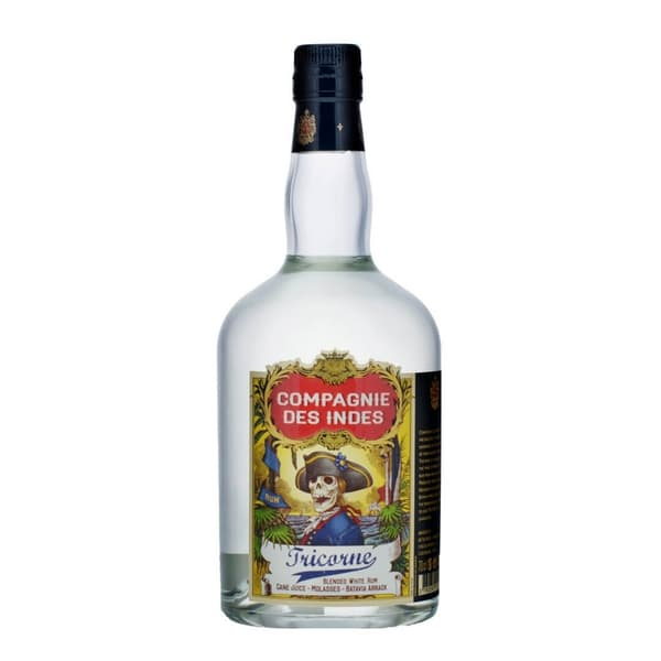 Compagnie des Indes Tricorne Blended White Rum 70cl