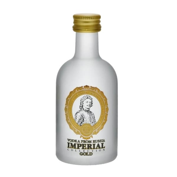 Imperial Collection Gold Vodka Mini 5cl