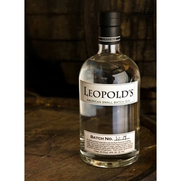 Leopold's American Small Batch Gin 70cl