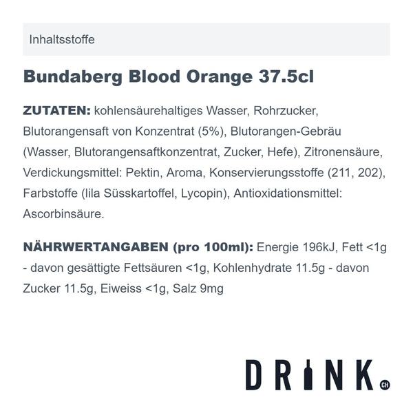 Bundaberg Blood Orange 37.5cl 4er Pack